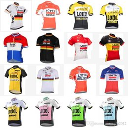 9af7f7a6c687a team Lotto cycling jersey Belgium bike short sleeve MTB Ropa Ciclismo  cycling clothing mens bicycle Maillot Culotte E0504