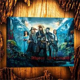Caribe Jack Sparrow, Peças de Lona Decoração de Casa HD Impresso Arte Moderna Pintura em Tela (Sem Moldura / Emoldurado) venda por atacado