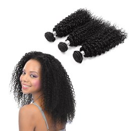 $enCountryForm.capitalKeyWord UK - Excellent Quality Afro Peruvian Curly Weave 8-30inch Hair Extensions Can Be Dyed Human Hair Bundles Can buy 3 PCS