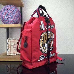 CroChet tassel bag online shopping - Pink sugao new style large travel back pack embroider animial luxury bag purses backpacks designer backpack famous brand bag luxury backpack