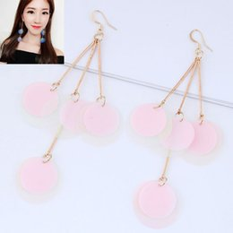nail fashion trends NZ - Fashion Trend Joker Paillette Shell Concise Personality Ear Nail Earrings