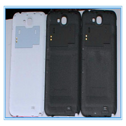 $enCountryForm.capitalKeyWord Canada - White and Gray Replacement For Galaxy Note 2 Plastic Battery Door Back Cover Housing For Samsung Galaxy Note 2 N7100