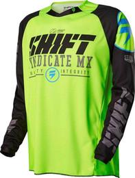 Xxxl Dh Canada - 2017 shift Cycling men's long sleeve shirt mountain bike motocross mx cycling dh downhill jersey cycling clothing bicycle shirt5