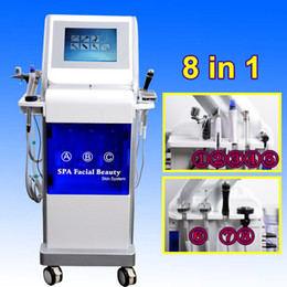 InjectIon beauty online shopping - Professional Hydro Dermabrasion Facial deep cleansing Diamond Hydra Microdermabrasion Machine oxygen injection oxygen spray beauty machine