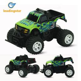 Discount toys climb - Leadingstar Rc Car 4 Channel Radio 2 .4ghz Rock Crawlers Rally Climbing Car Bigfoot Car Remote Control Model Off -Road V