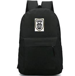 $enCountryForm.capitalKeyWord Canada - Thessaloniki backpack FC Paok daypack Eagle football club schoolbag Soccer badge rucksack Sport school bag Outdoor day pack