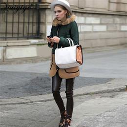 plus size clothes europe 2019 - Ruiyige 2018 Wholesale Europe Style Women SpringJacket Fashion Warm Parka Office Slim Female Clothing Plus Size Thick Ou