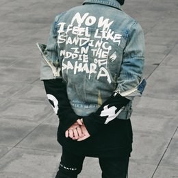 justin bieber fashion coating NZ - 2018 High quality men top belted trench fashion designer hip hop street denim US jacket coat swag Justin Bieber clothes L167