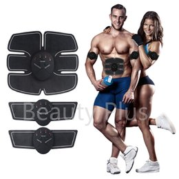 Wholesale Micro electronic ABS Muscle Toner Six pack Abdominal Trainer Mobile Gym Smart Fitness EMS Fit Boot Toning Portable Fat Burning