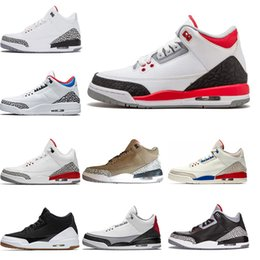Wholesale 2019 New Fire Red Free Throw Line Basketball Shoes Men Black Cement White Cement Sports Shoes trainer Sneaker