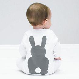 $enCountryForm.capitalKeyWord Australia - Baby Clothes Bunny Romper Winter Costumes Warm Newborn Kids Infant Rabbit Boys Girls Jumpsuit Long Sleeve Spring