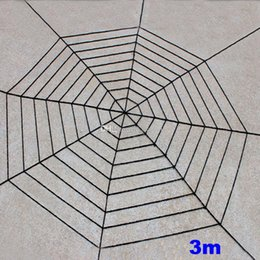 Web Housing Australia - Spider web Halloween Plush Toys Black White Cobweb Haunted House Bar Party Festive Prop Stage Indoor Outdoor Festive Supplies Gift WX9-968