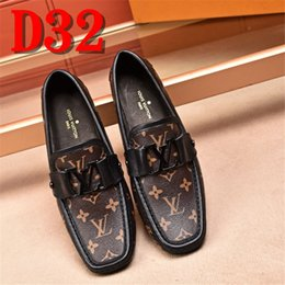 Design italian shoes online shopping - italian stitching design driving shoes men brand leather moccasins handmade leather shoes men loafers mocasines homme