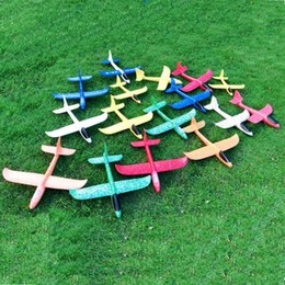 Wholesale Toys Helicopter NZ - Airplane Toy Glider Plane Set for Boys, Manual Throwing Model Foam Aircraft Air Plane Outdoor Sports Flying Toy for Kids as Gift