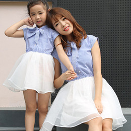a94e0d5d3111 Mother Daughter Dresses 2018 Summer Style Family Clothing Mom and Daughter  Dress Family Matching Outfits Mommy and Me Clothes