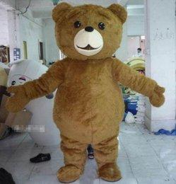 $enCountryForm.capitalKeyWord Canada - 2018 High quality hot Teddy Bear Mascot Costume Cartoon Fancy Dress fast shipping Adult Size
