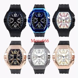 Mechanical Cars Canada - Wholesale automatic mechanical Wrist Watch men watch rubber strap stainless steel sports car dial Wristwatches man Watch 6 style