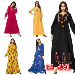 493d1dbab4b Women Modest Clothing NZ - Fashion Muslim Women Fashion Large Size Abaya  Dress Ankle Length Dress