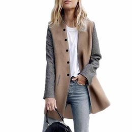 Womens Cashmere Jumpers UK - Womens Casual Long Sleeve Cardigan Jacket Lady  Coat Jumper Knitwear Cashmere 40e479b7d3