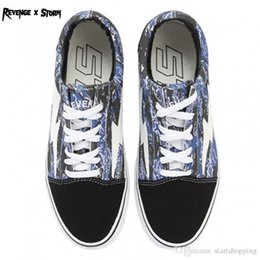 c4a45c0cd9 2018 New Athentic Vans ® Revenge X Storm Pop-up Store Old Skool Canvas Mens  Designer Sports Running Shoes for Men Sneakers Casual Trainers