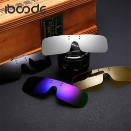 $enCountryForm.capitalKeyWord NZ - iboode Fashion Trendy Polarized Sunglasses Clip on Windproof Men Women Myopic Personalized Brand Designer Shades Anti UVA UVB