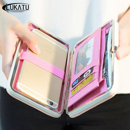 $enCountryForm.capitalKeyWord Canada - LUKATU Women Wallet New Comes High Capacity Fashion Female Long PU Leather Wallets Zipper Cellphone Pocket Purse Ladies Bags