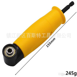 driver bits NZ - 90 Degree Angle Drilling Shank Screwdriver Turn Device Right Angle Right Driver Corner Electric Hex Drill Bit Socket Holder Adaptor 25bs bb
