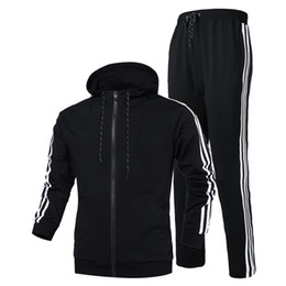 Chinese  2018 Brand Designer Tracksuits Spring Autumn Casual Unisex Sportswear Suits Higt Quality Hoodies Sportswear Plus-size S-3XL manufacturers