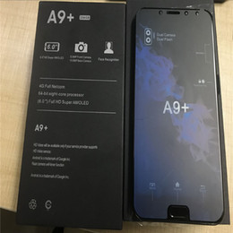 chinese smartphones india Australia - With face ID Android 7.1 Goophone A9+ A9 PLUS 4G LTE Octa Core 6.0 inch octa core 1920*1080 1 8G fake 4GB RAM 128GB ROM Lollipop Smartphones