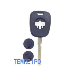 Keys Chip Shell Australia - 2 track Transponder car key shell for mercedes benz car chip key replacement key shell for benz