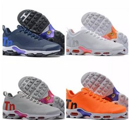 air plus shoes 2019 - 2018 New Chaussures Tn Plus 2 Running shoes maxes Orange Mens Shoes TNs Sports Outdoors air Mens Womens Trainers Sneaker