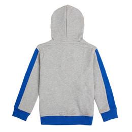 Retail Boys Jackets UK - nova kids retail wear popular patten boy hoodie 2016 latest design zipper-up winter children coat baby boy jacket for 3-8y