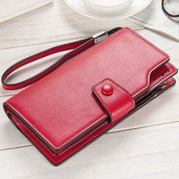 $enCountryForm.capitalKeyWord Canada - Women Wallets Fashion Zipper Hasp Lady Evening Bag Female Coin Purse Big Capacity Phone Bag Girls Long Handbag