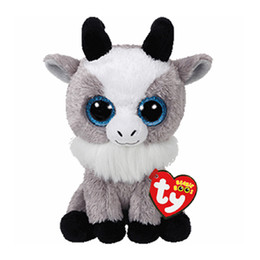 """toy goats 2019 - Ty Beanie Boos Plush Animal Doll Gabby Goat Soft Stuffed Toys With Tag 6"""" 15cm cheap toy goats"""