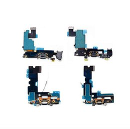 $enCountryForm.capitalKeyWord Australia - Wholesale 6s USB Charging Port and Headphone Audio Jack Flex Cable Ribbon Dock Connector for iPhone 5 6 6s 6p 7