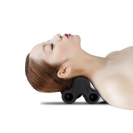 Legs piLLow online shopping - Hot Neck Massage Device Neck Pain Stiffness Relief Device Acupoints Massage Pillow Body Back Foot Leg Massage Device