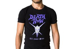 rowing t shirts NZ - Death Row All Your Sins Skull Logo Male Designing T Shirt top tee