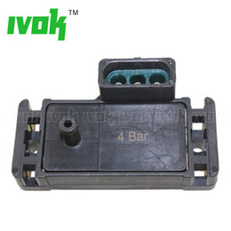 Bar Map Sensor Australia - Good Quality 4Bar 4 Bar 58 Psi 58psi Turbo MAP Sensor Kit For GM Accel DFI Chrome MSD Modification Purpose With Plug Pigtail
