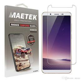 Toptan satış Patlamaya dayanıklı Koruyucu 9 H 0.26mm Temperli Cam Ekran Koruyucu için VIVO V9 7 5 Y25 X9 7 Artı V3 V5 LITE ARTı MAX Y67 Paketleme Aicoo