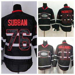 dea6e4f4a Montreal Canadiens Winter Classic Jerseys Hockey 11 Brendan Gallagher 76  P.K. Subban 67 Max Pacioretty Jerseys en blanco cosidos