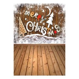 scenic muslin photo background backdrop 2019 - ALLOYSEED Vinyl Studio Backdrop Christmas Photography Prop Photo Background 3x5ft Home Photo Background 3D Effects