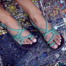 Sandalias de alta calidad Europa y América para mujer Zapatos nuevos de verano Zapatillas Zapatos de moda para mujer Zapatos de playa Zapatillas en venta