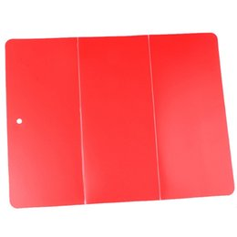 $enCountryForm.capitalKeyWord UK - Folding Plastic Cutting Plate Portable Cut Board Easy For Carry Outdoors Camp Kitchen Tool High Quality 5 5hs X