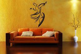 Art Stickers Decor Words Australia - customize wallpaper Arabic wall sticker mural art islamic design decal word home decor muslim calligraphy No28 Free shipping