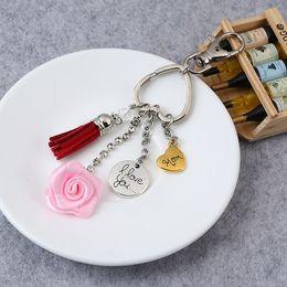 Car logo led online shopping - 2019 New HOT Selling Key Chains Custom D Cute Cartoon Mother s Day Logo Key Tag Soft PVC Rubber