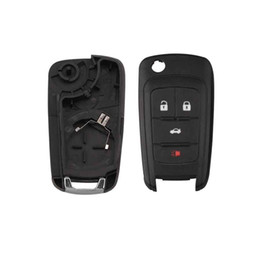 $enCountryForm.capitalKeyWord Australia - Replacement 4 Buttons Car Remote Key Suit for Chevrolet Malibu Cruze Aveo Spark Sail 433MHz Control Alarm Fob