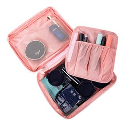 Roll Up Travel Cosmetic Bag UK - Multi Women's Travel Organization Beauty cosmetic Make up Storage