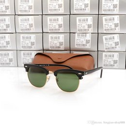 ff108a2be2c4 Planks Sunglasses Australia - High Quanlity Club Sun glasses Master Metal  hinge Plank black Sunglasses black