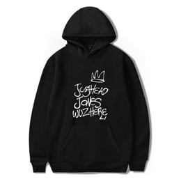 6321dc6e4 BTS Riverdale Jughead Jones Wuz Here Female Women Hoodies Sweatshirts  Hooded Hoody pullovers Harajuku Casual Television TV Show L18100704