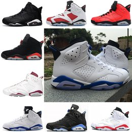 905f081b57cd76 Mens Shoes 12 NZ - Sport Blue Mens sneakers 6 6s basketball shoes Alternate  Hare White Find Similar